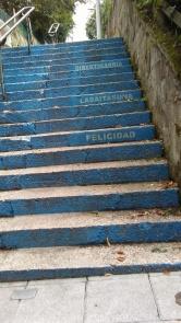 Escalera alegre