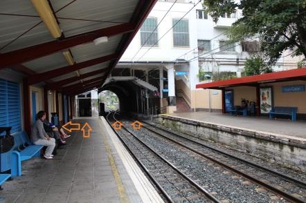 """Estación del """"topo"""" en Irún"""