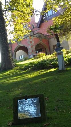 "Placa conmemorativa de Catalina de Erauso, la ""monja alférez"