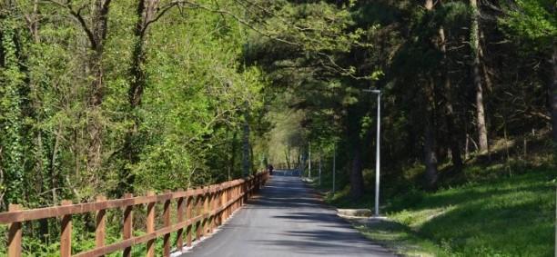 """Camino verde"" de Arrasate a Bergara"