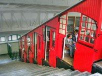 Detalle del funicular