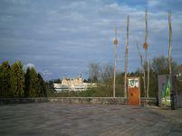 Una de las entradas al espacio verde de Miramón