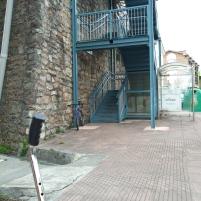Marquesina del mini-bus en Arragua.