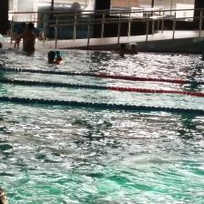 Disfrutar de las piscinas