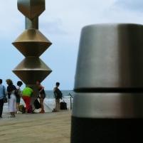Esculturas en el Paseo de la playa