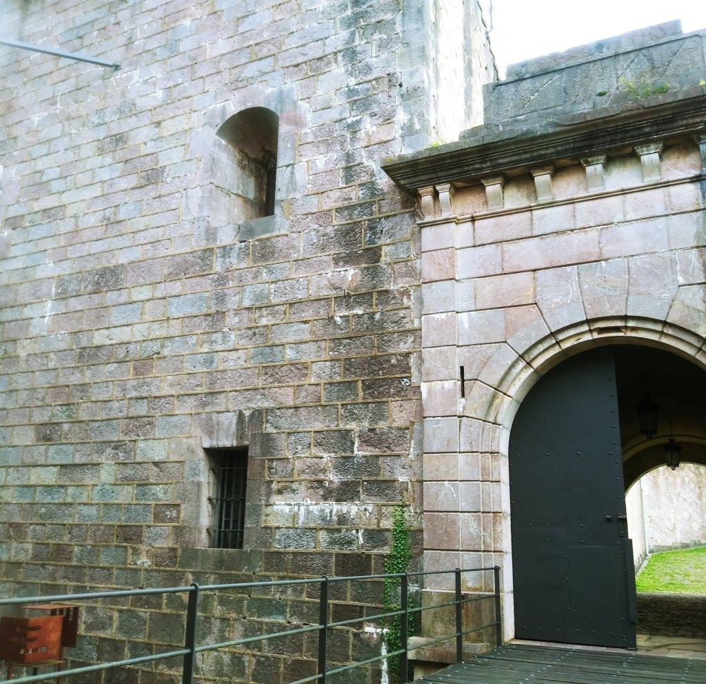 Primera puerta del Fuerte de San Marcos.