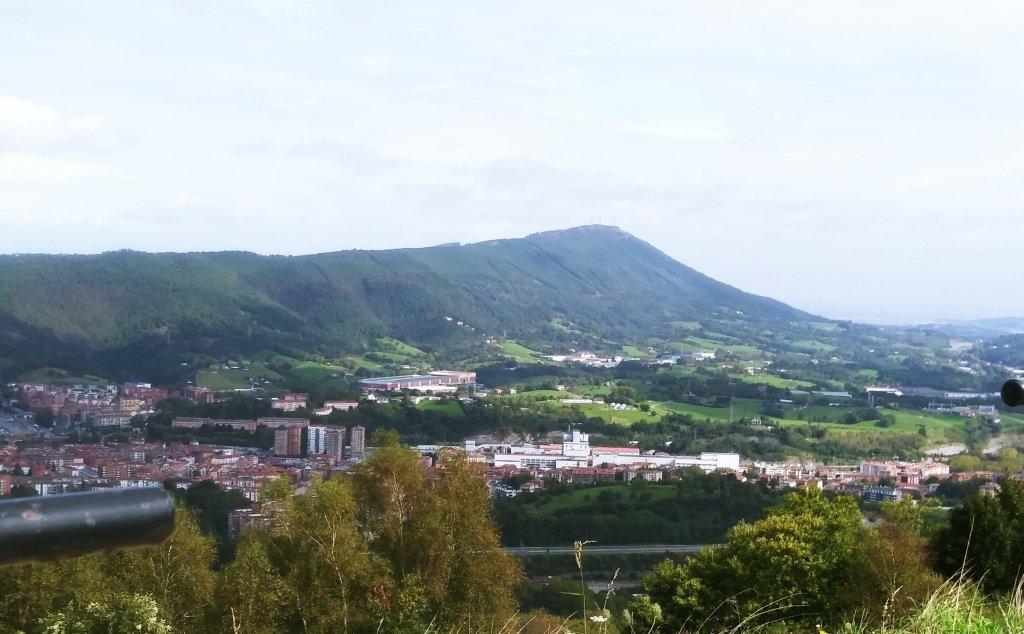 Vista del monte Jaizkibel.
